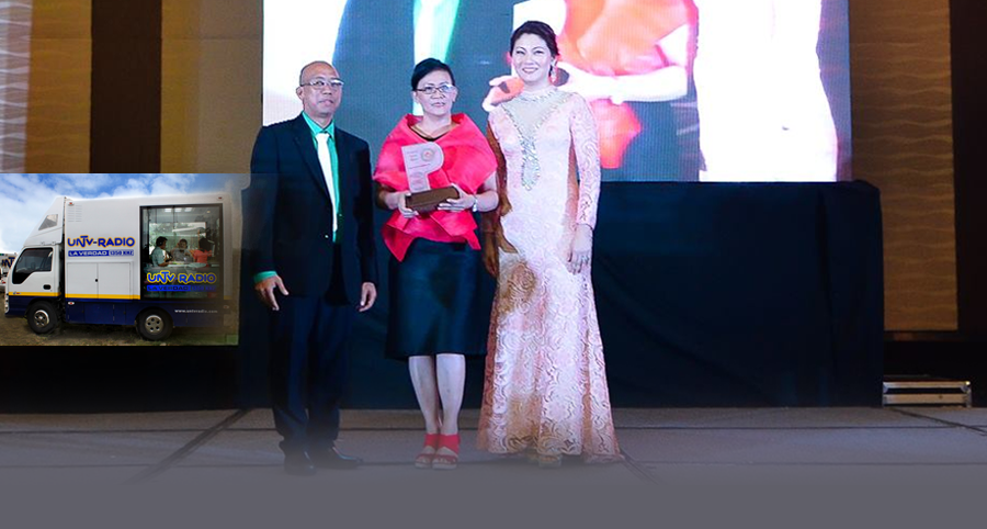 UNTV Radio Mobile Booth Receives EPIC Award