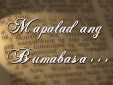 Mapalad Ang Bumabasa