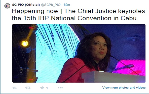 via @SCPh_PIO (official twitter page of Supreme Court Public Information Office)