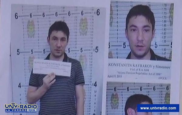 Konstanti Kavrakov, ang Bulgarian national na pangunahing suspek na gumagawa ng counterfeit access device