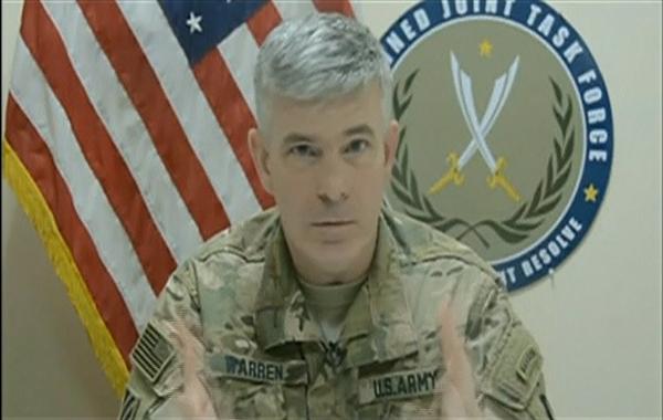 US Army Colonel Steve Warren(REUTERS)