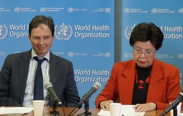 World Health Organization(REUTERS)